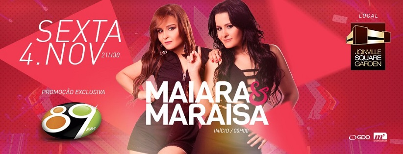 04/11/16 Show Nacional Maiara e Maraisa