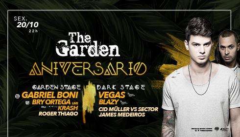 Aniversário The Garden