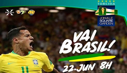Copa: Brasil X Costa Rica
