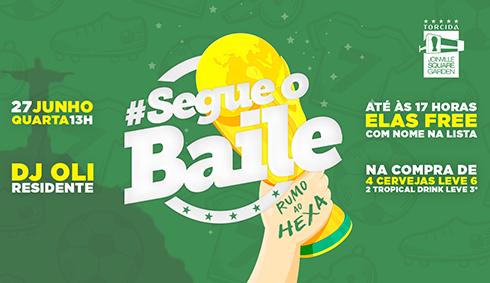 Copa: Brasil X Sérvia | #SegueoBaile