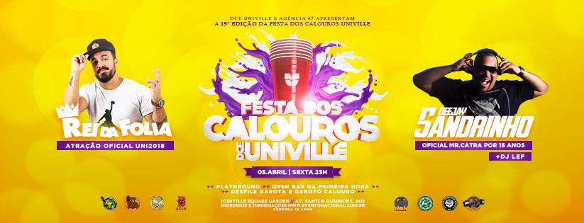 Festa dos Calouros DCE Univille 2019