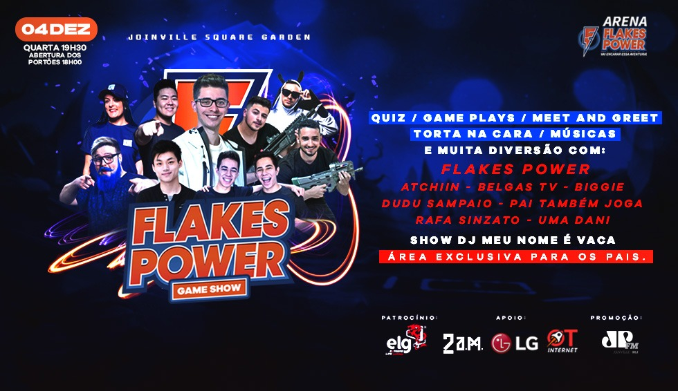 Flakes Power Game Show