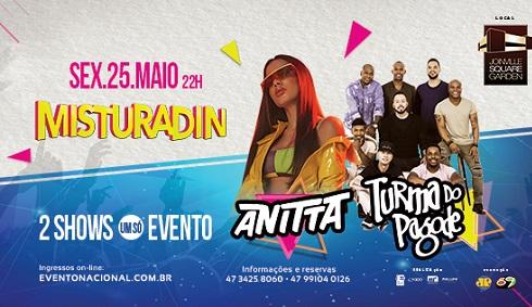 Misturadin - Anitta + Turma do Pagode