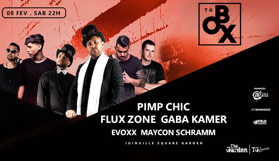 The Garden Box - Pimp Chic, Flux Zone, Gaba Kammer, Evoxx