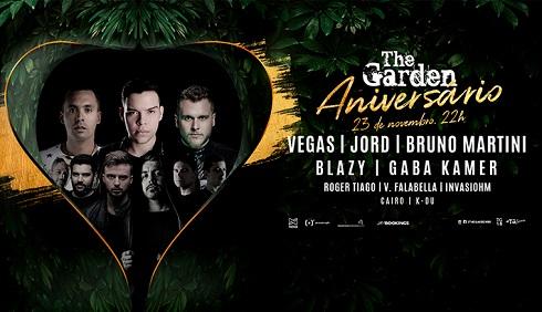 The Garden - Aniversário : Vegas : Jord : Bruno Martini