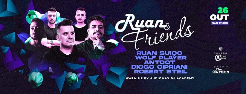 The Garden • Ruan & Friends - Wolf Player - Antdot